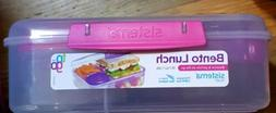 New! Sistema Bento Lunch Box To Go- Fruit Yogurt Pot, 55.7 o