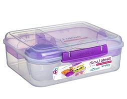 New! Sistema Bento Lunch box To Go, Lunchbox fruit yogurt po