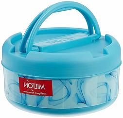 Milton New Brunch Plastic Lunch Box, 590ml, Blue