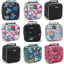US Childrens Lunch Pack Insulated Box Bag Kids Boys Girls Sc