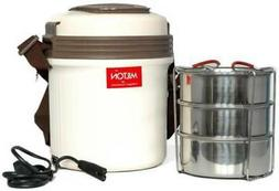New Milton Electron Hot Lunch Box Electric Tiffin Carrier -