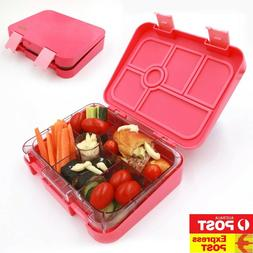 New Leakproof Bento Lunch Box With Name Stickers for Kids. E