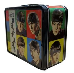 New Loungefly The Beatles Tin Metal Lunch Box