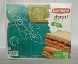 NEW Lunch Blox 1T65 Rubbermaid Kit Storage Set Food Kids San