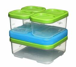 NEW Rubbermaid Lunch Box Sandwich Kit Food Container Lunchbo