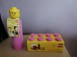 NEW: LEGO Storage Lunch Box and Water Bottle set