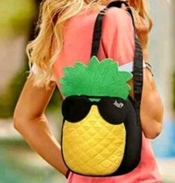 New Victorias Secret PINK Summer PINEAPPLE Cooler Bag Lunchb