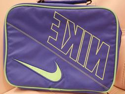NEW WT NIKE Swoosh GAME ROYAL BLUE Insulated Soft Lunch Box