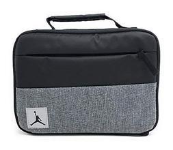 Nike Jordan Kids Pivot Insulated Lunch Box, Black