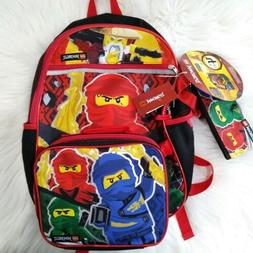 """LEGO Chima 16/"""" Backpack with water bottle holder"""