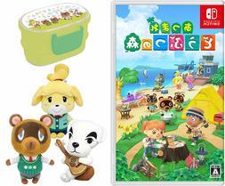 Nintendo Switch Animal Crossing Game Soft set of three Plush