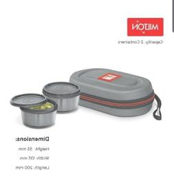 Milton Nutri Stainless Steel Insulated Tiffin Set 350Ml Set