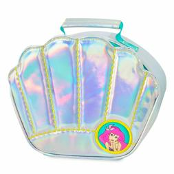NWT DISNEY ARIEL IRIDESCENT SILVER SHELL SHAPED INSULATED LU