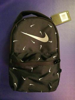 NWT Nike Black / White Swoosh Lunch Box Bag FREE SHIPPING