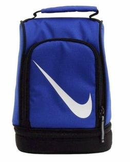 NWT Nike Dome Insulated Lunch Box Bag Lunch Tote Blue/Black