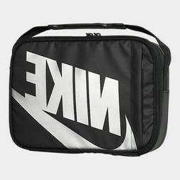 Nike NWT Futura Fuel Pack Lunch Box Black / Silver Swoosh Bl