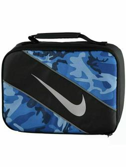 NWT Nike Reflect Blue Camo Lunch Box Large Rectangular With