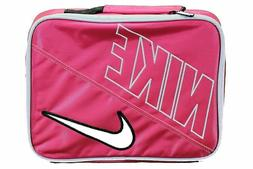 NWT NIKE Swoosh PINK FORCE INSULATED LUNCH BOX BAG #9A2217-P