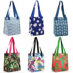 Nylon Insulated Lunch Tote Bag Thermal Cooler Lunch Box Carr