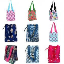Nylon Insulated Lunch Tote Bag Thermal Cooler Lunch Box Geom