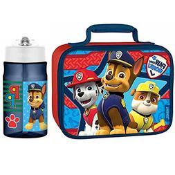 Thermos Paw Patrol 12 Oz Water Bottle w/Soft Lunch Bag