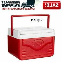 Personal Cooler Portable Ice Chest Lunch Box Food Drinks Pic