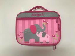 Personalized Stephen Joseph Elephant Lunchbox