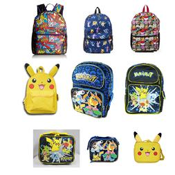 Pikachu Pokemon Backpack or Lunch Box - Your Choice size 16""