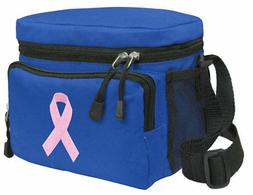 pink ribbon lunch box bag lunchbox insulated