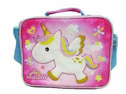Pink Unicorn Top Handle Shoulder Strap Girl New with Tags Lu
