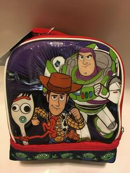 Disney Pixar Toy Story 4 Buzz Woody Forky Insulated Lunch Bo