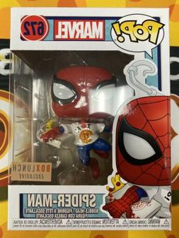 FUNKO POP! MARVEL SPIDER-MAN WITH PIZZA #672 BOX LUNCH EXCLU
