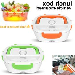 Portable Car Electric Heating Lunch Box Food Heater Bento Wa
