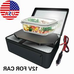 Portable Electric Food Warmer Heating Lunch Box Bag Mini Ove