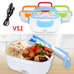 Portable Electric Heated Car Plug Heating Lunch Box Bento Tr