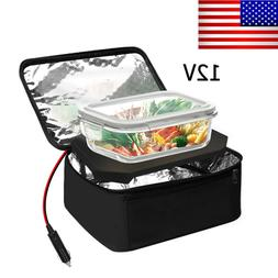 Portable Electric Heated Heating Lunch Box 12V Car Mini Micr