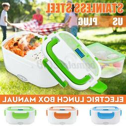 Portable Electric Heated Heating Lunch Box Bento Travel Car