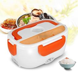 Portable Electric Heated Heating Lunch Box Bento Food Warmer