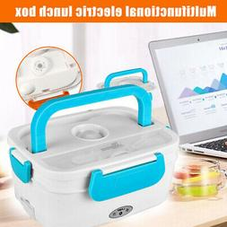 Portable Electric Heating Lunch Box Food Storage Car Contain