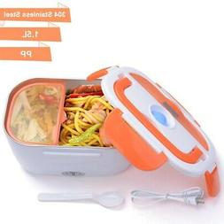 1.5L Portable Electric Heating Lunch Box Food Storage Box wi