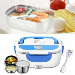 Portable Electric US Plug Heating Lunch Box Bento Travel Foo