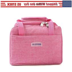 Portable Insulated Lunch Bag 7.2L Thermal Cooler Tote Lunch