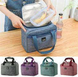Portable Insulated Lunch Bag Totes Cooler Lunch Box Bag for