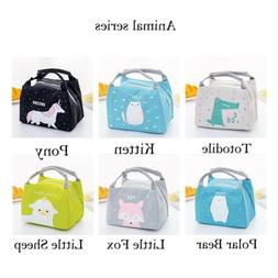 Portable Insulated Lunch Box Bag Picnic Tote Cooler for Wome