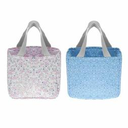 Portable Lunch Box Storage Bags Holder Container Home Organi
