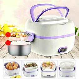 Portable Multifunctional Electric Lunch Box Food Steamer Min