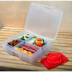 Portion Food Storage & Organization Sets Control Lunch Box W