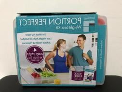 Bentology Portion Perfect Weigh-Loss kit Bento Box With Book