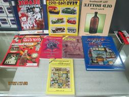 Price Guides-Antique Tools,Lunch Boxes,Marbles,Coca Cola,Bea