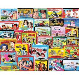 White Mountain Puzzles TV Lunch Boxes 1000 Piece Jigsaw Puzz